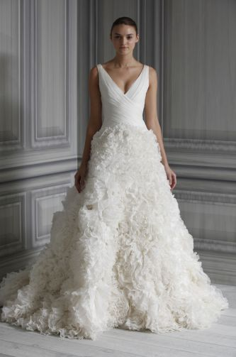 Monique Lhuillier Wedding Dress Style Legancy OneWed