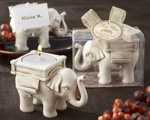 Lucky Elephant Tea Light Holders