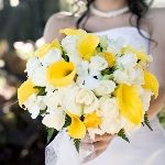 200 Roses and 50 Mini Callas Wedding Combo Package