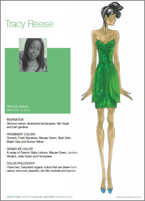 Tracy Reese Goes Green, inspired by nature
