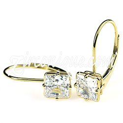 leverback bridesmaid earrings