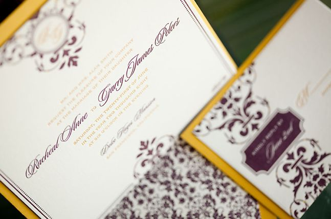 Formal wedding invitation ideas Credit Paper Chez