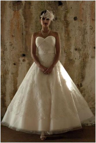 VintageInspired Wedding Gown Timeless and Elegant