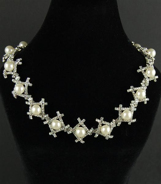 Pearl necklace from I'm Over It