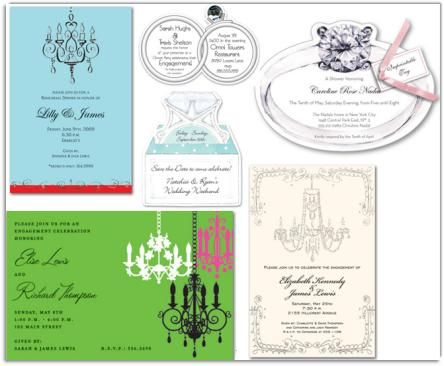 Classy wedding and engagement invitations from MyExpression