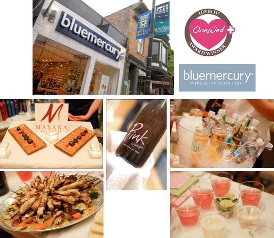 OneWed loves Bluemercury, Mayana Choclates, Prosecco, Pink, Miller Chill