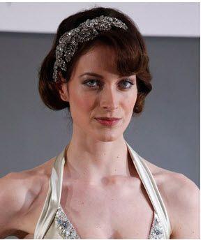 Jenny Packham: Vintage bridal headband