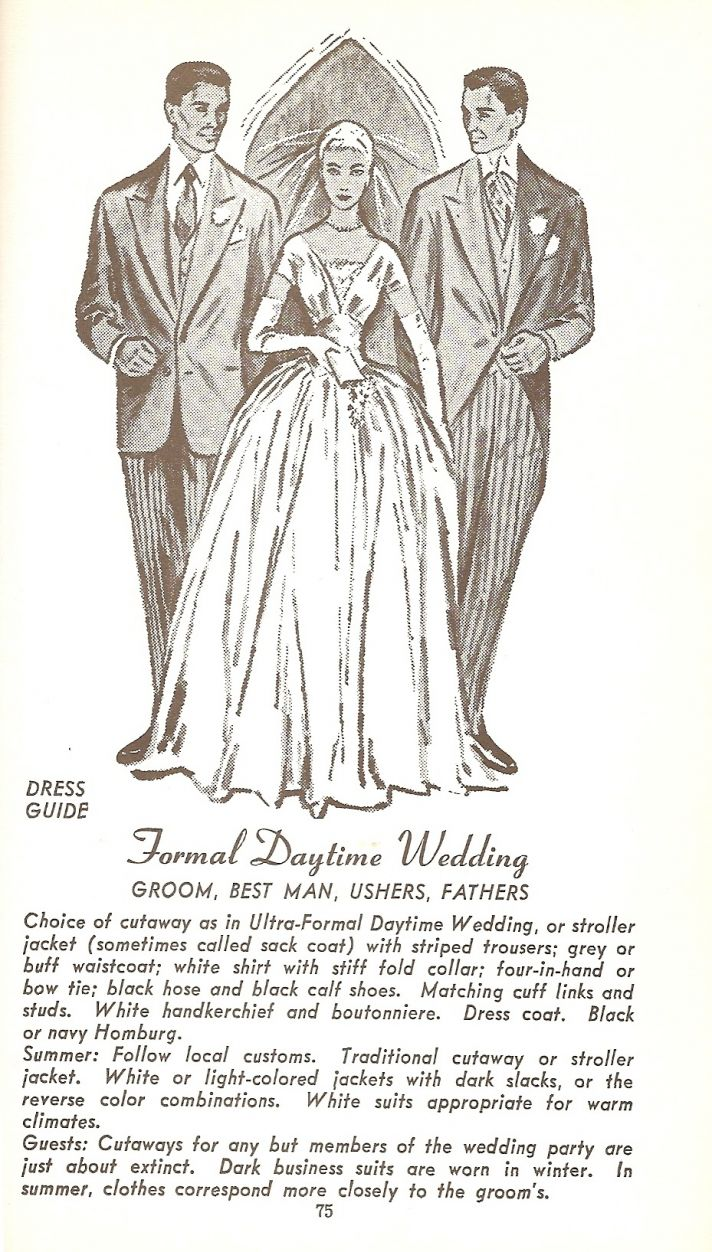 You have to love the tapered waist on this 1930s style wedding dress. The full length gloves are a p
