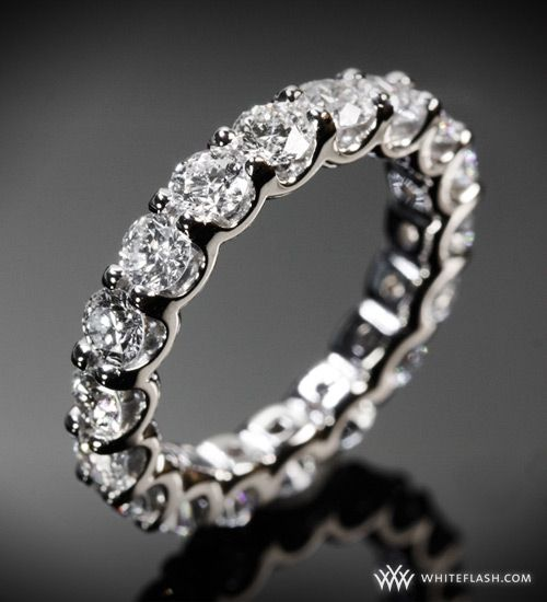 Gorgeous diamond and platinum wedding band- invest in the best when it comes to wedding rings
