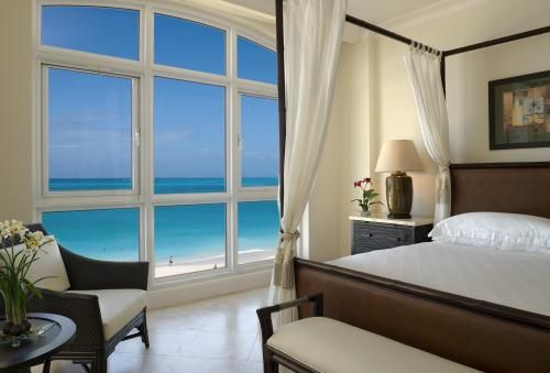 Beautiful view from the honeymoon suite at Seven Stars Resort in Turks and Caicos