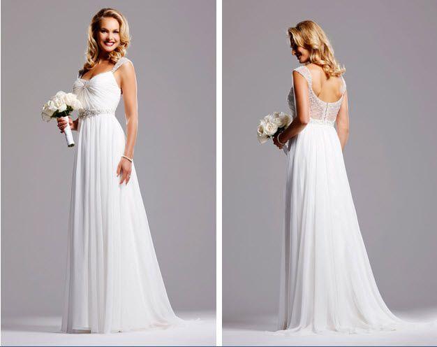 wedding david tutera romantic beach wedding gowns