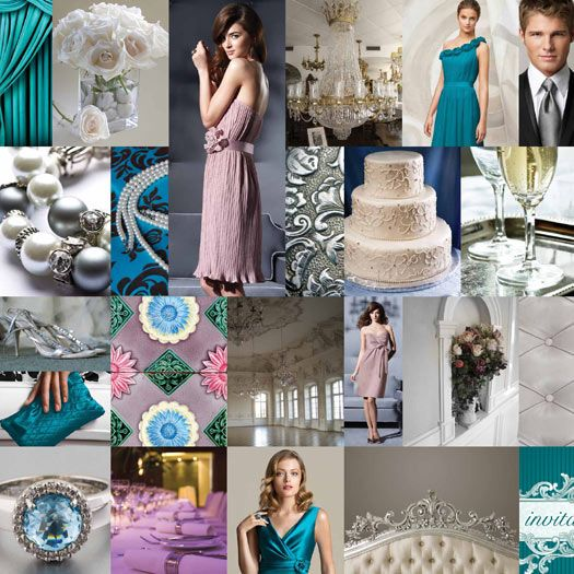 Dessy Pantone Wedding Inspiration Board Contest