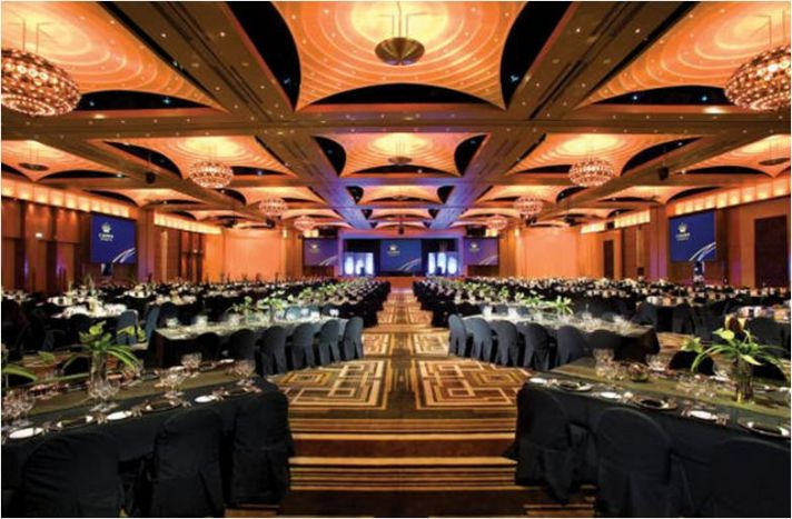 The Crown Palladium ballroom in Melbourne, Australia