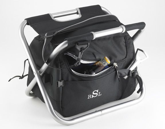 Sit 'n Sip Cooler monogrammed for tailgating camping valentine's day gift