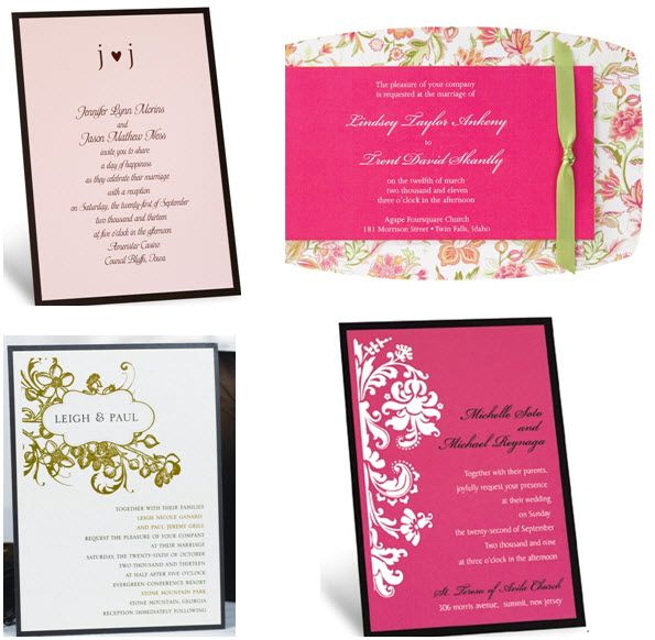 Wedding Day Evening Invitations Save the Date Cards t Inspiration