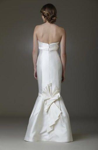 Origami wedding dress by Amy Kuschel- back