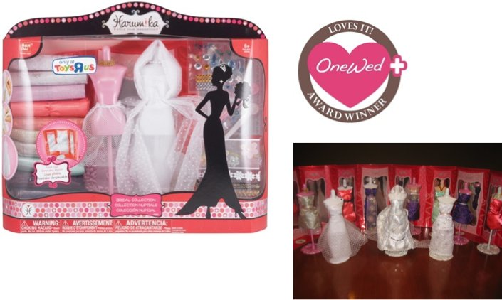 OneWed loves this craft for creating your own mini wedding dress or bridesmaid dress. It's the perfe