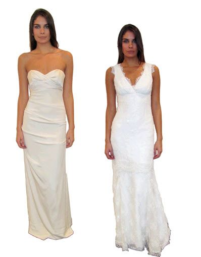 Chic and sophisticated Spring 2011 Nicole Miller wedding dresses
