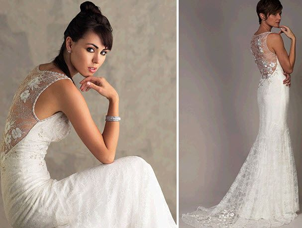 Lace Wedding Dress Wellington Full Lace Back Wedding Dress