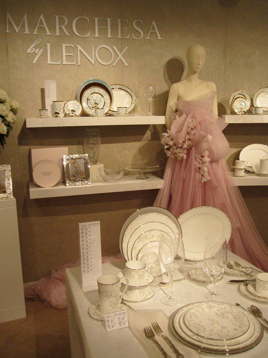 Marchesa launches fine china collection with Lenox!