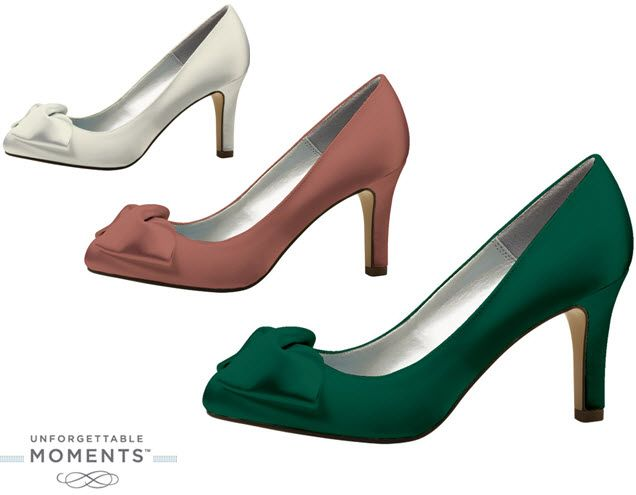 Unforgettable Moments by Lela Rose- chic bridal shoes for less than $50!