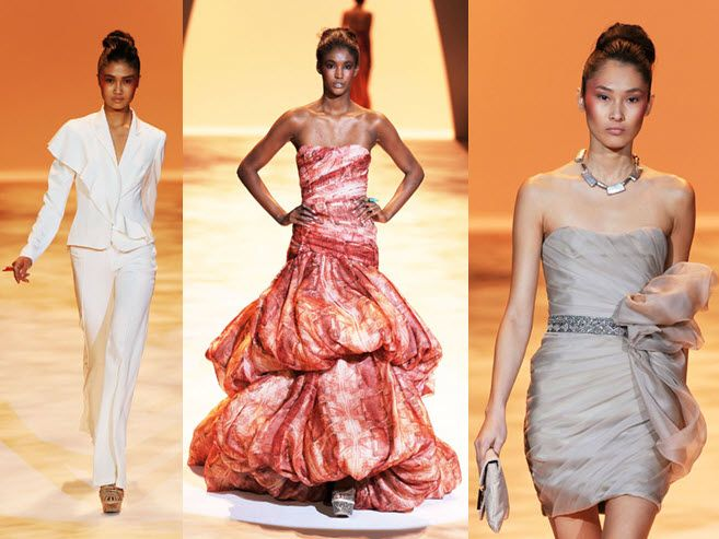 Stunning silhouettes, and to-die-for draping, dominate Christian Siriano's Spring 2011 couture colle