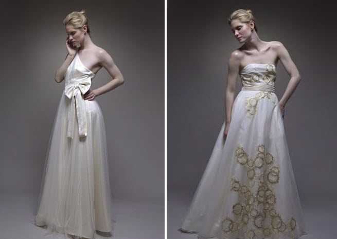 romantic-vintage-chic-wedding-dresses-ivory-silk-tulle-gold-embroidery-a-line-silhouette