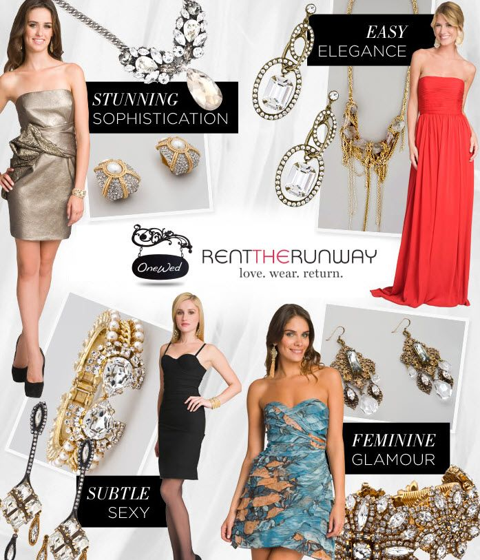 Create a Wedding Pre-Party to start earning free designer dress & accessory rentals!