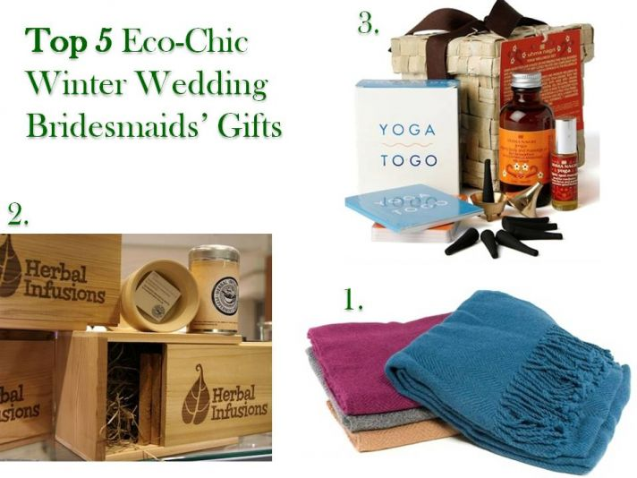 Top 5 Ecochic Winter Wedding Bridesmaids Gifts Alpaca shawl ecochic tea