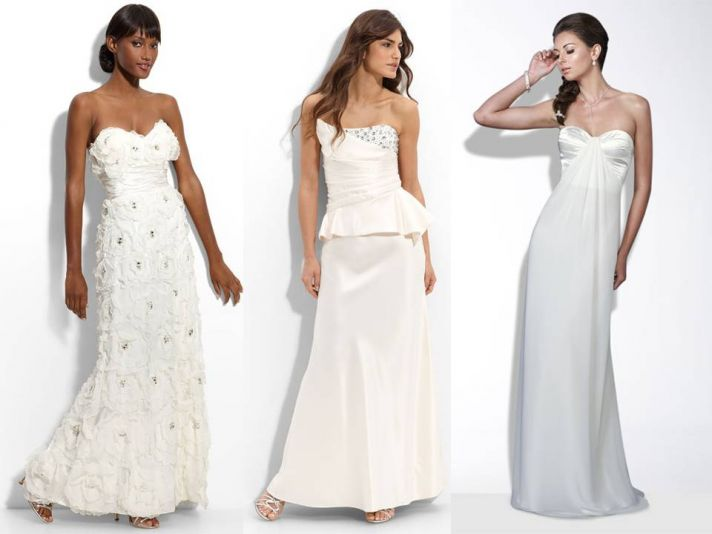 Chic, sophisticated 2011 wedding dresses from Nordstrom's wedding shop