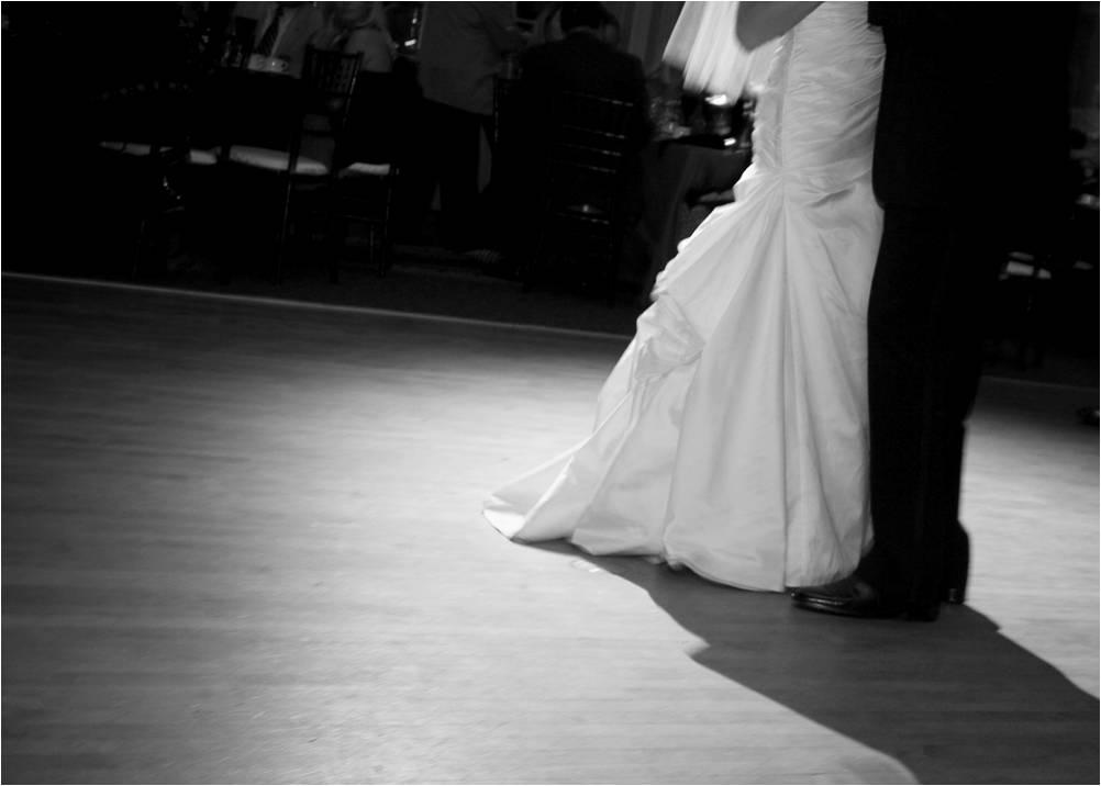 wedding photo black and white