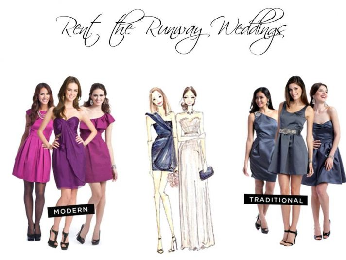 New designer wedding boutique from Rent the Runway!