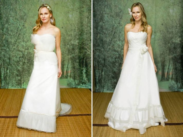 Eco-Couture Adele Wechsler classic wedding dresses