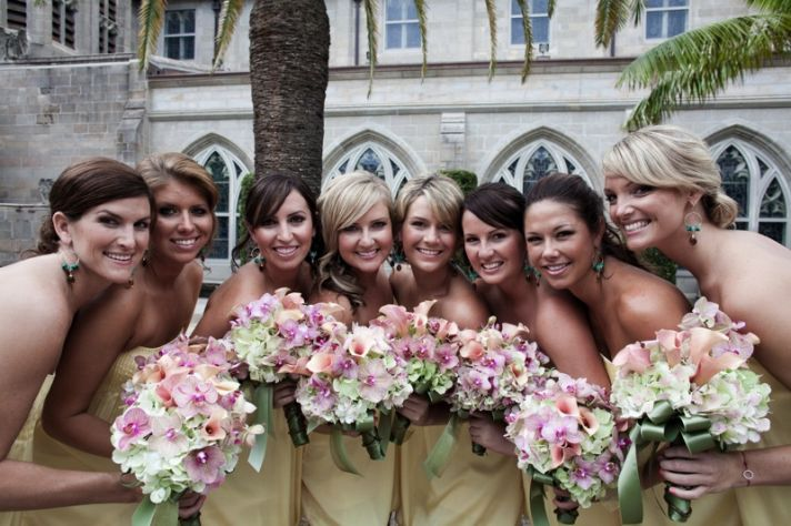 If you want your wedding featured, will you select your best looking friends for the bridal party?