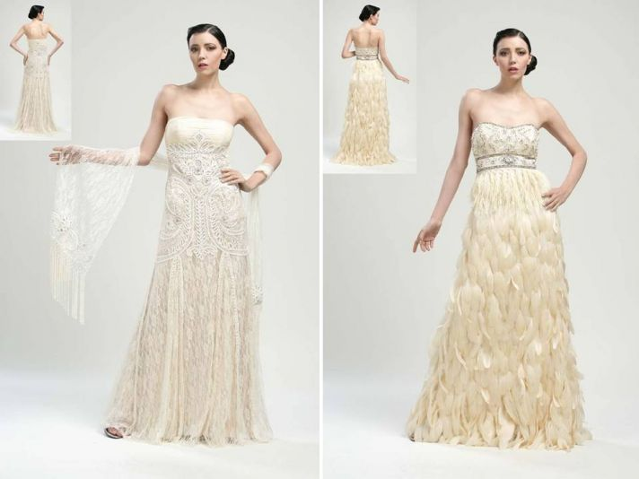 Chic Vintage Wedding Dresses : Wedding dresses and cocktail frocks for vintage brides by