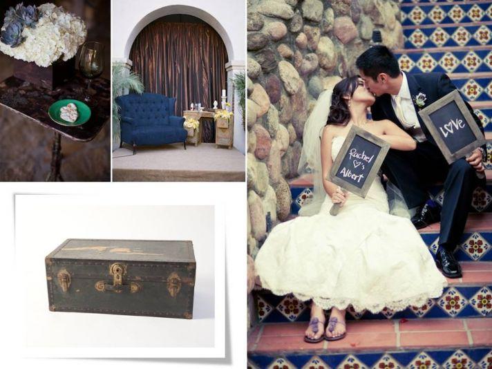Unique vintage furniture rentals for your wedding reception