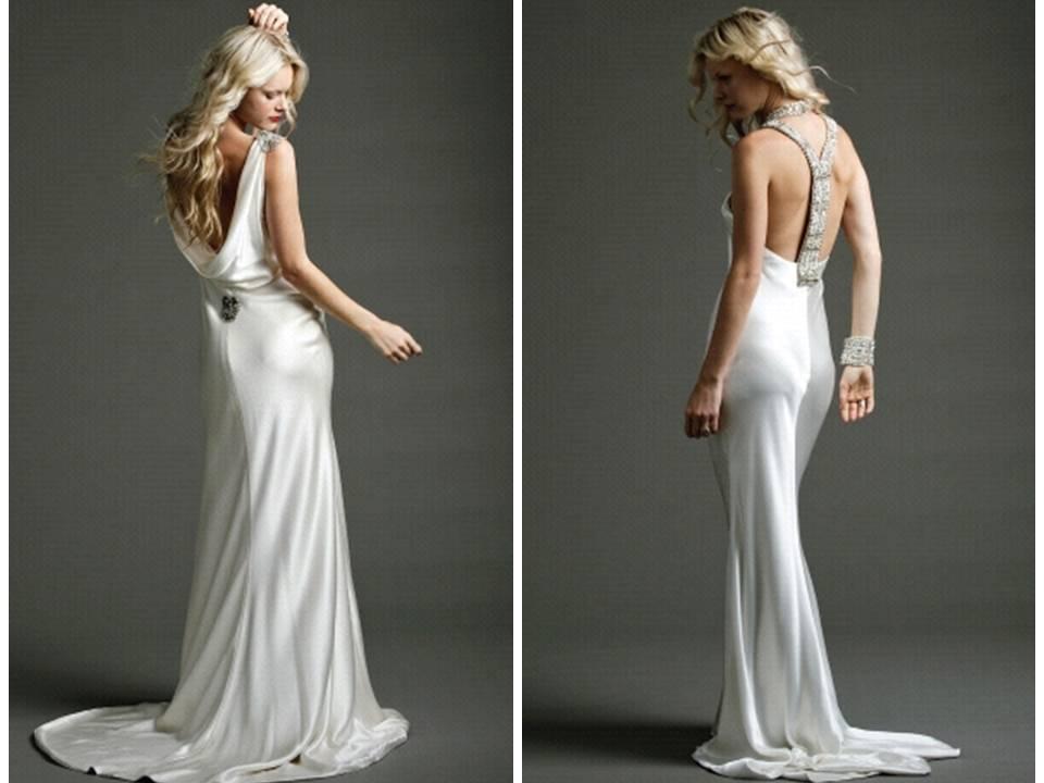 Sleek Wedding Dresses - cheap prom dresses under 100