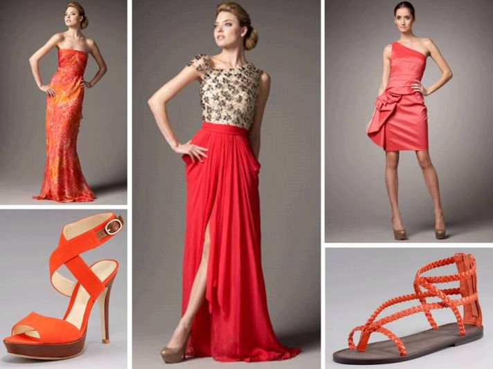 Coral is the IT hue of the season for Spring 2011