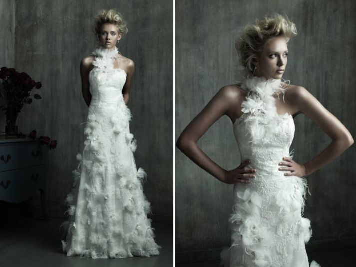 2011 Wedding Trend Fanciful Feathers Onewed