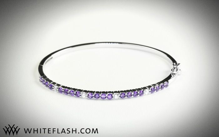 Bridal bling giveaway! Win this dazzling diamond bangle bracelet!