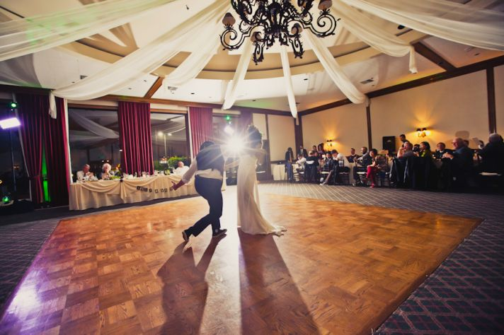 Cali bride and groom's first dance inspired by The Last Waltz