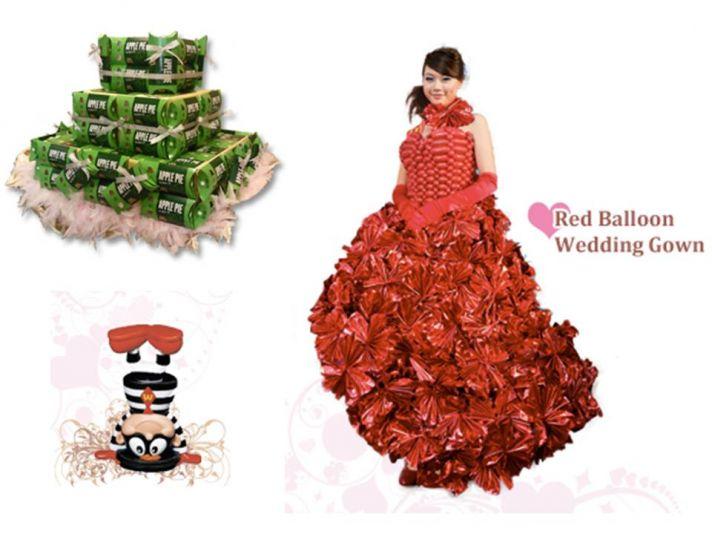 Full-service wedding planning at McDonald's in Hong Kong