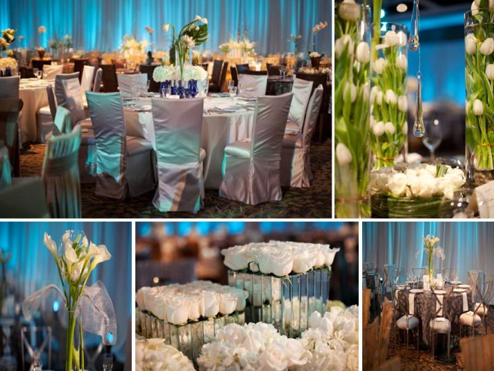 Blue White And Gold Wedding Decor : Kelsee s style files alternative options for the
