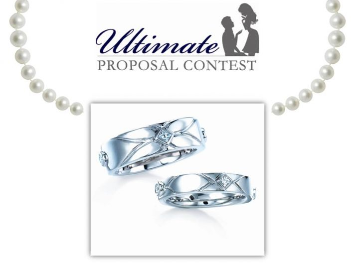 Win the ultimate prize- diamond and platinum wedding bands and a honeymoon! Just share your proposal