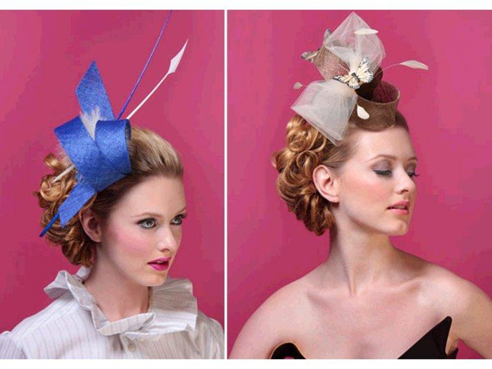 Chic royal wedding headwear for wedding guests
