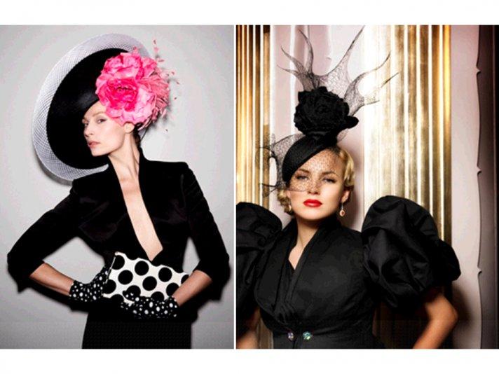 Royal wedding hats by Philip Treacy