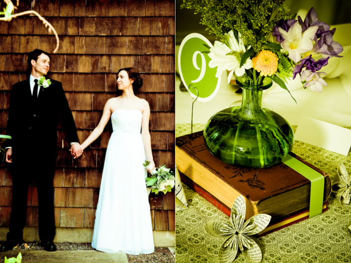 Shabby Chic Garden Wedding in New Jersey Leah and Tim