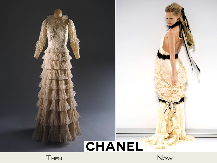 Credit Chanel bridal style inspiration Past and Present