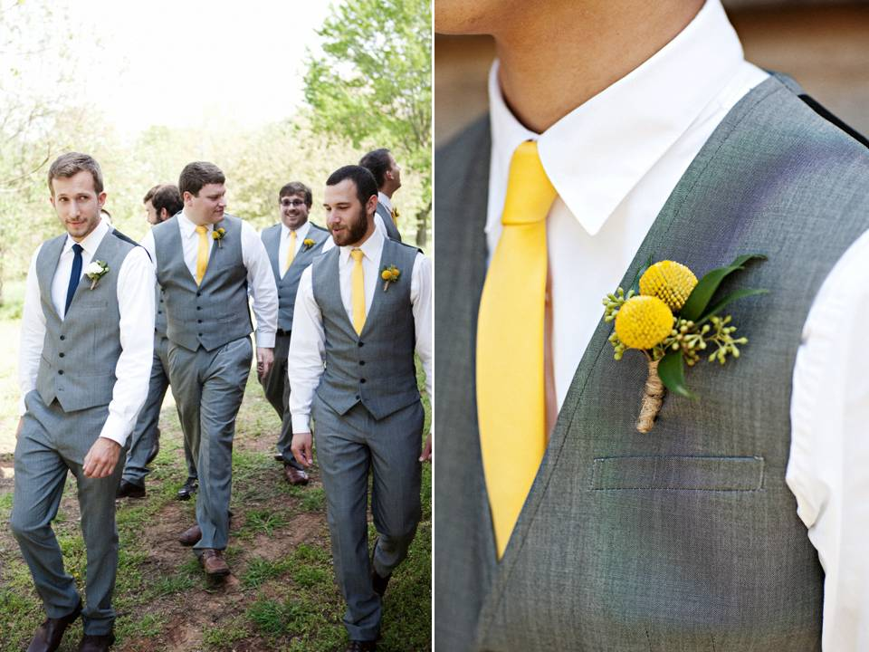 Two Shades of Grey {wedding party attire} | Engaged & Inspired ...