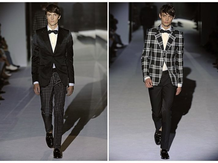 Style inspiration for dapper grooms from Gucci's Spring 2012 RTW collection